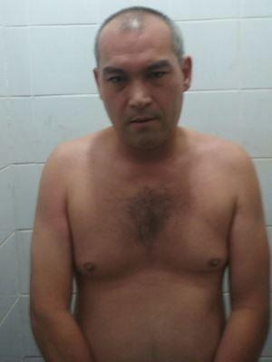 Suspeito foi surpreendido pela polícia enquanto fazia ameaça na internet (Foto: Reprodução / EPTV)