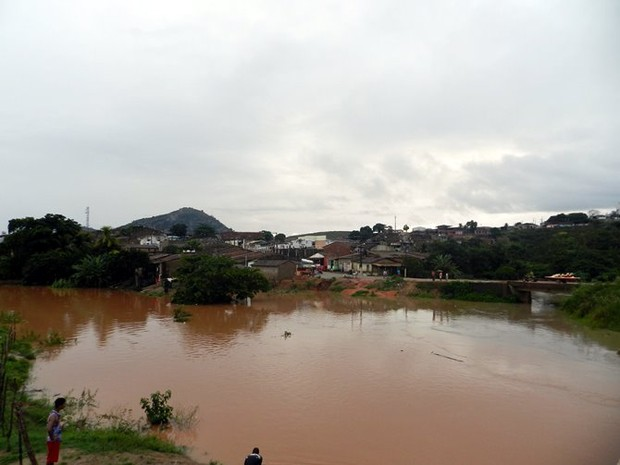 Nível dos rios continua elevado, mas não há risco de inundação (Foto: Hígor Silva/JG 40graus)