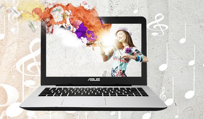 Notebook da Asus vem com tela em HD e processador Core i3 (Foto: Divulgação/Asus)
