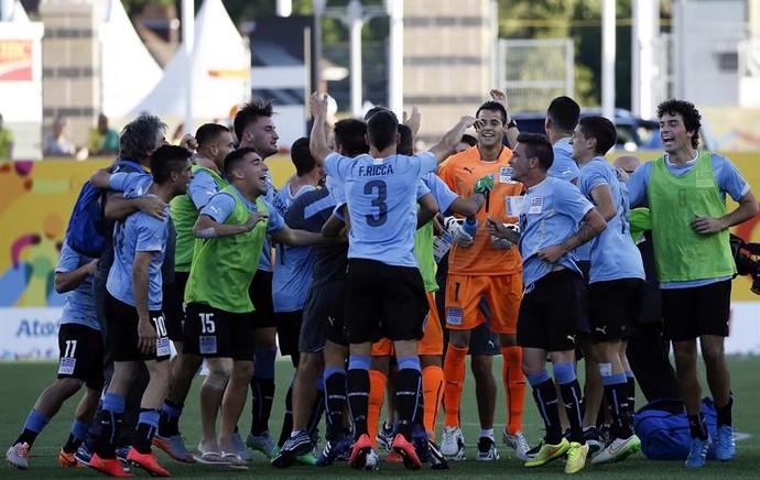 Brasil Uruguai Pan Futebol (Foto:  EFE/Javier Etxezarreta)