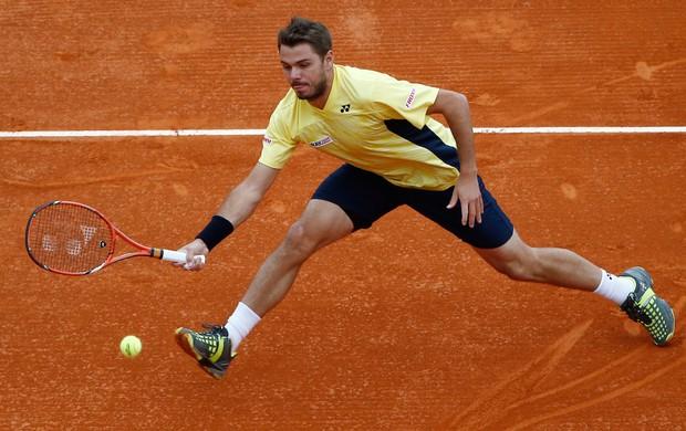 federer x wawrinka tenis final monte carlo (Foto: AP)