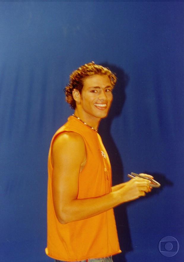 Cauã Reymond, o Maumau da Malhação 2003 (Foto: Acervo Globo)