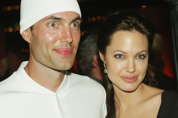 Angelina Jolie e seu irmão, James Haven  (Foto: Getty Images)