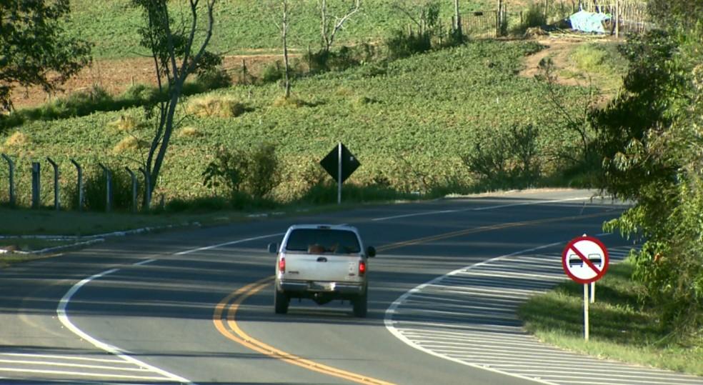 Proposta de privatização de rodovias preocupa moradores no Sul de Minas (Foto: Reprodução EPTV)