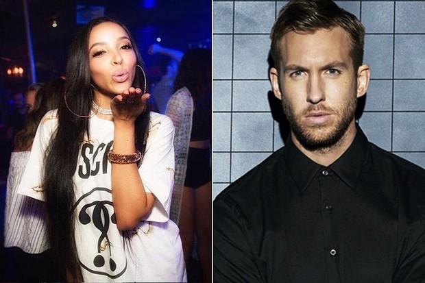 Tinashe e Calvin Harris (Foto: Reprodução / Instagram)