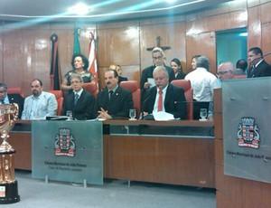 Botafogo-PB é homenageado na Câmara Municipal de João Pessoa pelo título do Campeonato Paraibano 2013 (Foto: Divulgação)