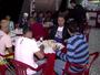 Portuguesa Santista comemora o acesso com churrasco e pagode