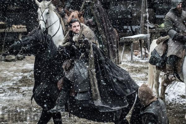 O personagem Jon Snow em cena da próxima temporada de Game of Thrones (Foto: Reprodução)