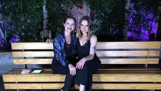Agatha Moreira realiza sonho de encontrar Melanie C, das Spice Girls