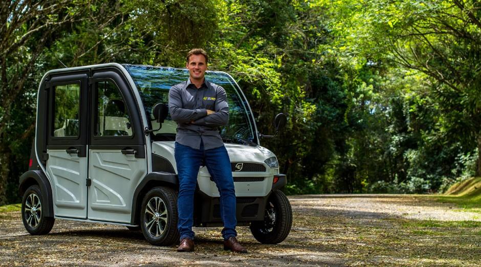 Rodrigo Contin, CEO e fundador da Hitech Electric (Foto: Divulgação)