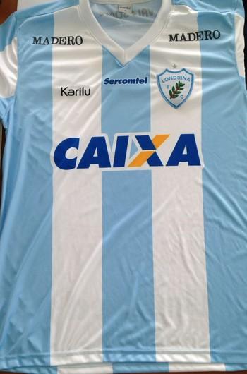 Camisa Londrina Caixa (Foto: Sergio Malucelli/Arquivo pessoal)