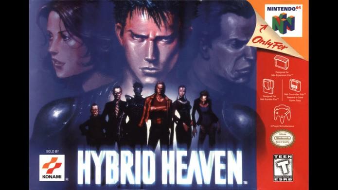 Hybrid Heaven misturava vários elementos em um belo jogo de ação e RPG (Foto: Reprodução/GamesDBase)