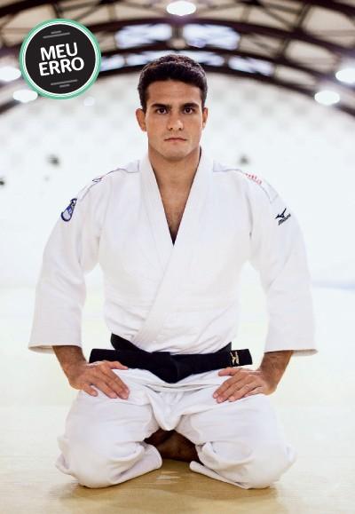 LEANDRO GUILHEIRO Judoca brasileiro. Conquistou o bronze nas Olimpíadas de Atenas (2004) e de Pequim (2008), além de prata no Mundial de Tóquio (2010)  (Foto: Daniel Marenco/Folhapress)