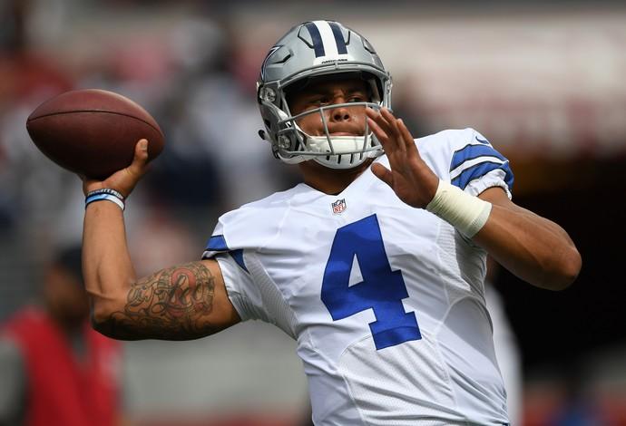 Dak Prescott, quarterback do Dallas Cowboys (Foto: Getty Images)