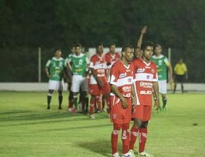 Luverdense e CRB empatam em 2 a 2 (Foto: Assessoria/Luverdense Esporte Clube)