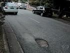 Irregularidades no asfalto deixam trânsito mais lento em várias cidades