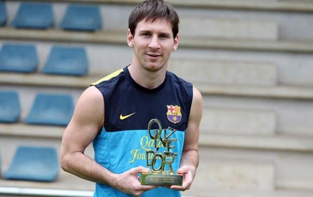messi barcelona premiação Onze d'Or (Foto: Miguel Ruiz / FC Barcelona)