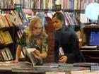 Angélica grava em shopping com Maria Casadevall