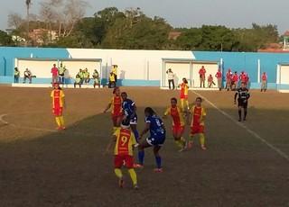 Viana e JV Lideral jogam pela final do Maranhense no Djalma Campos em Viana (Foto: Divulgação / Jorginho Botelho)