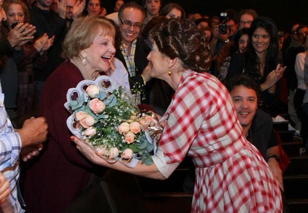 Eva Todor e Débora Olivieri (Foto: Raphael Mesquita/Foto Rio News)