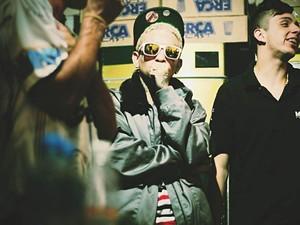 Guimê nos bastidores de show em Osasco (SP) (Foto: Divulgação/ Tico Fernandes)