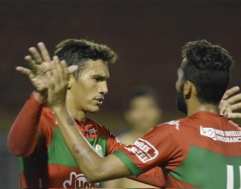 Bruno Nunes Portuguesa Parnahyba Copa do Brasil (Foto: Dorival Rosa/Portuguesa)