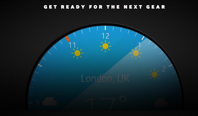 Samsung deve lançar Gear A, smartwatch com tela arredondada, em breve (Foto: Foto: Divulgação/Samsung)