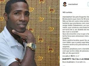 Márcia Short prestou homenagens ao cabeleireiro nas redes sociais (Foto: Reprodução / Instagram)