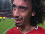"""Valdívia chora após gol, faz desabafo  e afirma: """"O que mais quero é ficar"""""""