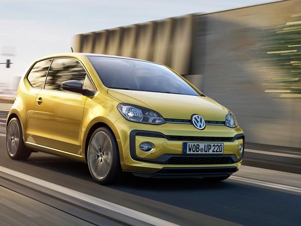 Volkswagen Up! passa pela primeira reestilização (Foto: Divulgação)