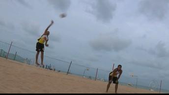 Rafael e Renato Andrew querem manter  hegemonia da Paraíba no vôlei de praia sub-19