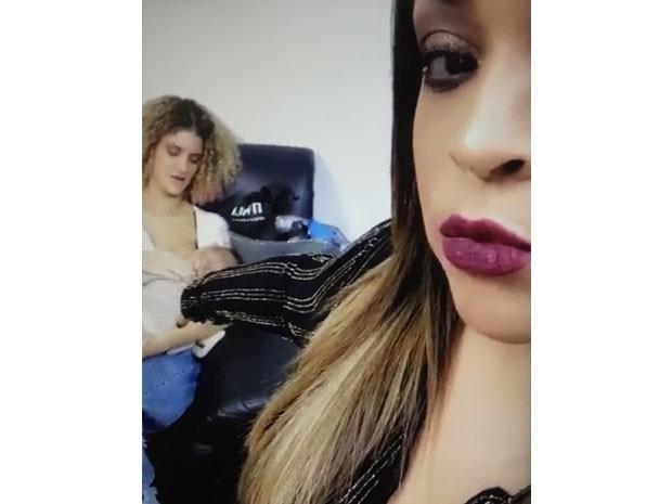 Preta Gil e Sol (Foto: Reproduo Snapchat)