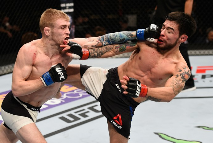 Justin Scoggins Ray Borg UFC MMA (Foto: Getty Images)