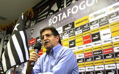 René Simões, Apresentação Botafogo (Foto: Vitor Silva / SSpress)