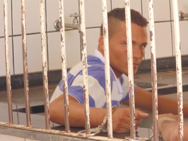 Judson Alves era procurado por tráfico de drogas  (Foto: Wilkson Tarres/G1)