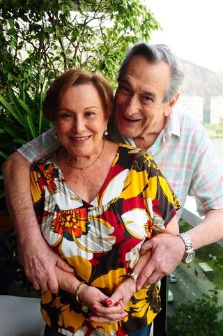 Nicette Bruno e Paulo Goulart (Foto: Arquivo Pessoal/Ana Colla)