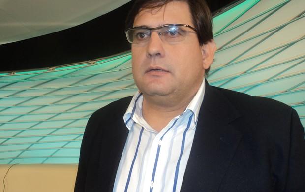 Guto Ferreira participou do Arena SporTV desta segunda-feira (Foto: Marcelo Braga)