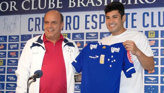 Vinícius Araújo, atacante do Cruzeiro (Foto: Maurício Paulucci)