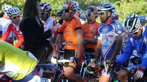 Volta Ciclística de São Paulo - 2ª etapa - largada em Bauru - Rodrigo Araújo (Foto: Alan Schneider/Globoesporte.com)