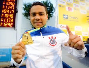 """Com 100kg, França tenta perder peso por título mundial: """"Vou secar"""" (Rodrigo Coca/Ag. Corinthians)"""