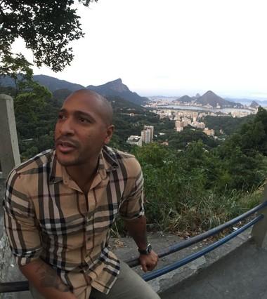 Victor Simões favela da Rocinha (Foto: Gustavo Rotstein)