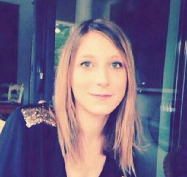 Elodie Breuil, francesa de 23 anos, estava no Bataclan (Foto: Reprodução)