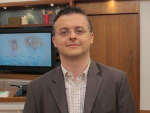 Daniel Barros é psiquiatra e discute temas dessa área (Foto: Tadeu Meniconi/G1)