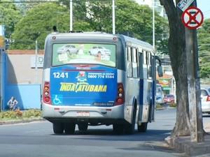 Tarifa de ônibus sobe para R$ 3,20 a partir de segunda-feira (Foto: Reprodução/ EPTV)