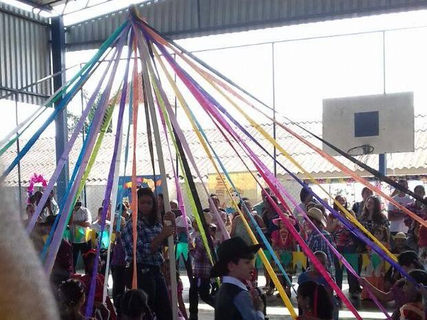 Circuito Festa Junina Uberlandia : G quadrilha em escolas de uberl ndia é tradição nas