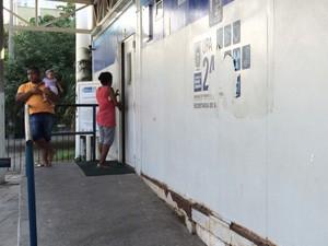 Família diz que Tatiana morreu na UPA do Engenho Novo (Foto: Henrique Coelho/G1)