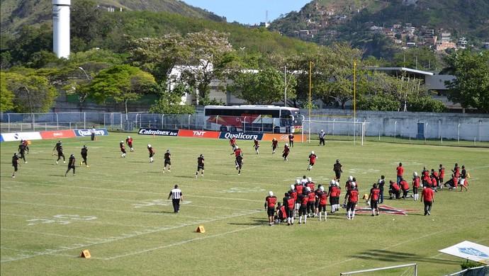 Torneio Touchdown 2013: Vitória Antares x Botafogo F.A. (Foto: Sidney Magno Novo/Globoesporte.com)