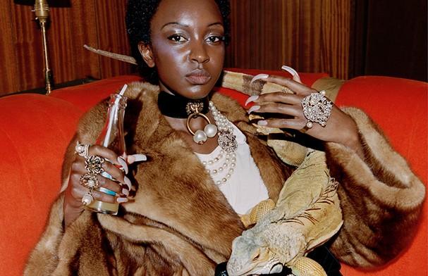 Campanha pre-fall 2017 da Gucci tem SÓ modelos negros! (Foto: Divulgação)