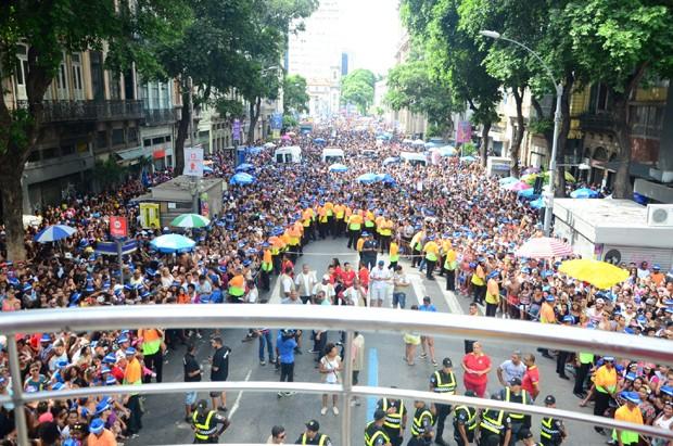Bloco das Poderosas no Rio (Foto: Webert Belicio/AgNews)