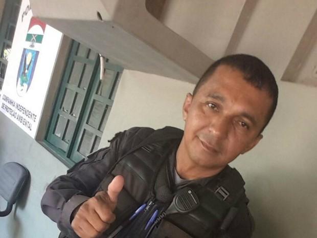 Ivan Márcio chegou a ser socorrido, mas não resisitiu aos ferimentos  (Foto: Divulgação/PM)